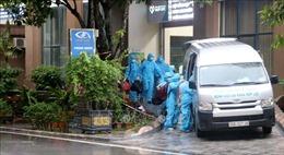 Thanh Hóa: Di chuyển gần 500 người ra khỏi Bệnh viện Đa khoa Hợp Lực