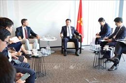 Doanh nghiệp Bỉ sẵn sàng hỗ trợ công tác phòng chống dịch COVID-19 tại Việt Nam
