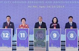 Động thổ dự án thành phố thông minh hơn 4 tỷ USD tại Đông Anh, Hà Nội
