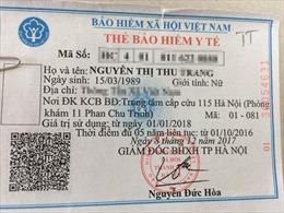 Việc đồng bộ hóa dữ liệu BHXH sẽ không tránh khỏi sai sót trùng tên, trùng mã số thẻ BHYT