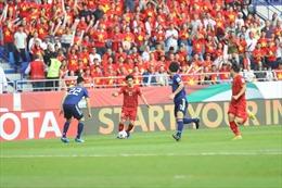 Tuyển Việt Nam thi đấu quả cảm, thể hiện đẳng cấp không thua kém Nhật Bản