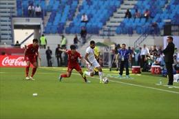 Jordan dẫn trước 1 - 0 từ pha sút phạt cố định