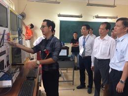 Hội thi thiết bị đào tạo tự làm của các trường nghề Hà Nội