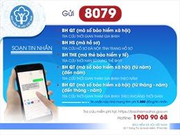 Tra thông tin về bảo hiểm xã hội, bảo hiểm y tế qua tin nhắn