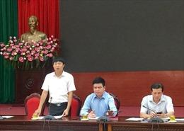 Quận Cầu Giấy xử lý vi phạm 3 lô đất nằm trên tuyến đường Dương Đình Nghệ, Hà Nội