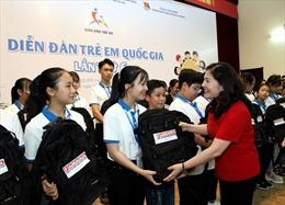 Trẻ em quan tâm nhiều đến vấn đề phòng chống bạo lực, xâm hại tình dục