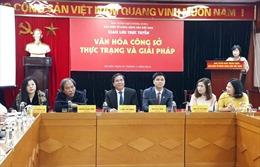 Văn hóa công sở góp phần đáp ứng yêu cầu của công cuộc cải cách hành chính