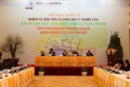 Kêu gọi cộng đồng tham gia các hoạt động bảo tồn di sản quốc gia