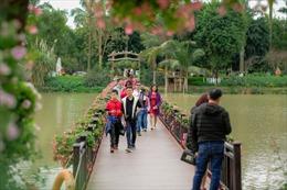 Lượng khách quốc tế đến Hà Nội giảm nhẹ