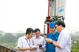 Tốc độ thử nghiệm mạng 5G Vinaphone đạt 2,2Gbps