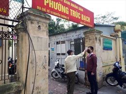 Ngày đầu tiên các công sở Hà Nội thực hiện giãn cách xã hội