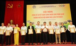 Hà Nội công bố 275 sản phẩm chương trình mỗi xã một sản phẩm