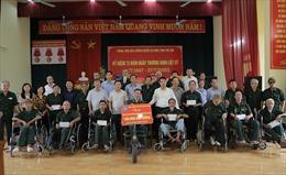 BHXH Việt Nam tri ân thương, bệnh binh