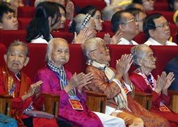 Gặp mặt tri ân Mẹ Việt Nam anh hùng