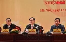 Đại hội lần thứ XVII Đảng bộ TP Hà Nội: Phát triển Thủ đô theo hướng đô thị xanh và hiện đại