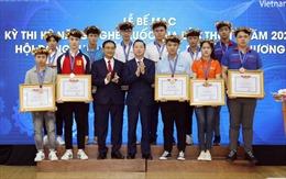 168 thí sinh đạt huy chương tại kỳ thi Kỹ năng nghề quốc gia
