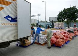 Hơn 39 tấn hàng cứu trợ được miễn phí cước chuyển phát qua Bưu điện