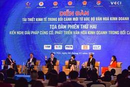 Diễn đàn tái thiết kinh tế trong bối cảnh mới từ góc độ văn hóa kinh doanh