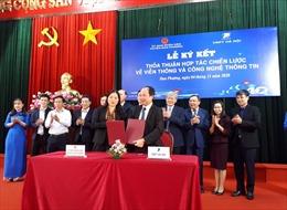Hợp tác chuyển đổi số tại huyện ngoại thành Hà Nội