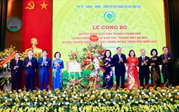 Thị xã Sơn Tây hoàn thành nhiệm vụ xây dựng nông thôn mới năm