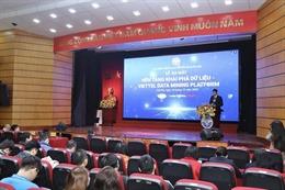 Ra mắt nền tảng khai phá dữ liệu 'Make in Vietnam'