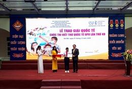 Phát động cuộc thi viết thư quốc tế UPU lần thứ 50