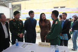 Tư vấn, giới thiệu việc làm tới bộ đội xuất ngũ tại Hà Nội