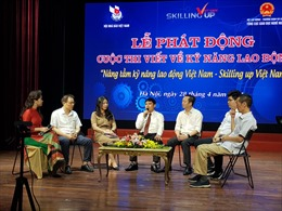 Phát động cuộc thi viết về kỹ năng lao động Việt Nam