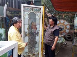 Người tạo dựng dòng điêu khắc tranh kính nghệ thuật tại Việt Nam