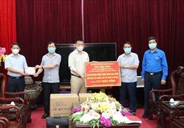Trao tặng thiết bị, hỗ trợ Bắc Ninh phòng chống dịch COVID-19