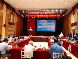 Đổi mới hoạt động của cán bộ công đoàn Thủ đô