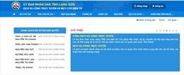 Lạng Sơn gấp rút hoàn thành triển khai 100% các dịch vụ công ở mức 4