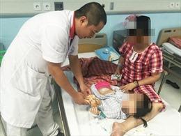 Bé gái 3 tuổi đã bị u buồng trứng