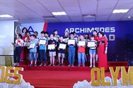 Hơn 1 tỷ đồng tổng giá trị học bổng được trao tại Archimedes Olympiad 2019