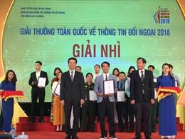 Báo Tin tức đoạt giải Nhì 'Giải thưởng toàn quốc về thông tin đối ngoại'