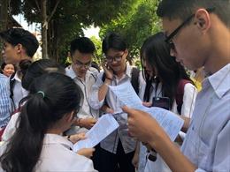 70% bài thi môn lịch sử kỳ thi THPT quốc gia năm 2019 dưới điểm trung bình