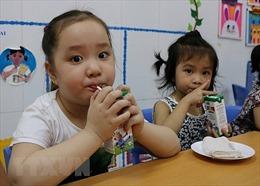 Hơn 1 triệu trẻ Hà Nội tham gia chương trình sữa học đường