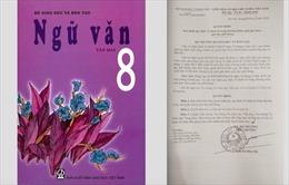 Hàng loạt lỗi chính tả tên vua Lý Công Uẩn trong sách giáo khoa Ngữ văn lớp 8