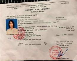 Kiểm điểm các cá nhân liên quan đến việc báo nhầm địa điểm thi THPT chuyên Nguyễn Huệ