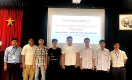 6 học sinh Việt Nam giành huy chương tại Olympic Tin học châu Á
