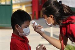 Ngày 1/9, nhiều trường học ở Hà Nội bắt đầu tựu trường
