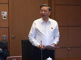 Bộ trưởng Bộ Công an Tô Lâm: Nếu tách làm 2 luật sẽ tránh được lãng phí