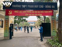 Tham quan qua vùng dịch, hơn 600 học sinh trường THPT Phan Huy Chú phải xét nghiệm nhanh COVID-19