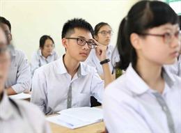 Môn thi thứ tư vào lớp 10 Hà Nội sẽ công bố vào tháng 3