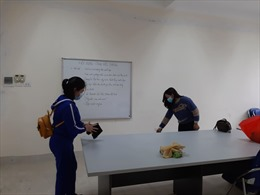 Nhiều trường Hà Nội siết chặt công tác phòng dịch khi đón học sinh trở lại