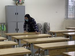 Trường Tiểu học Xuân Phương sẵn sàng đón học sinh tới lớp trở lại