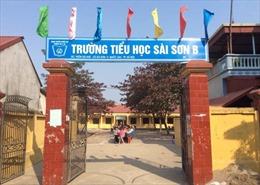 Ngày 29/3, thanh tra toàn bộ sự việc giáo viên trường tiểu học Sài Sơn B tố cáo bị trù dập