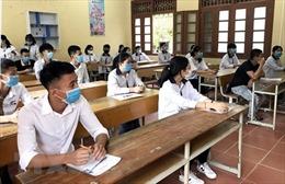Thực hiện nghiêm phòng dịch COVID-19 tại các điểm thi vào lớp 10 trường chuyên