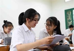 Điều chỉnh thời gian tuyển sinh nếu thi tốt nghiệp THPT làm 2 đợt