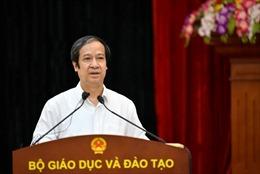 Bộ trưởng Nguyễn Kim Sơn: Ưu tiên số một của giáo dục phổ thông là dạy người